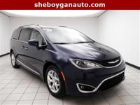 Jazz Blue Pearlcoat 2017 Chrysler Pacifica Touring L **