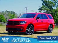 CARFAX One-Owner. Clean CARFAX. Red 2017 Dodge Durango