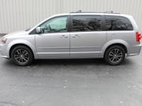 This Grand Caravan is the GT model and has features