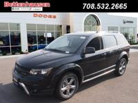 Options:  2017 Dodge Journey Crossroad|Black|A Great