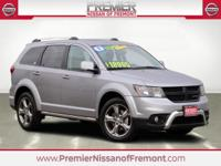 Clean CARFAX. Bruiser Gray Clearcoat 2017 Dodge Journey