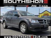 CARFAX One-Owner. Clean CARFAX. 2017 Dodge Journey SE