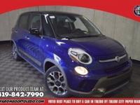 Turbocharged! GPS Nav! This good-looking 2017 Fiat 500L