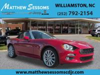 Show room worthy, This Fiat Spider Convertible is so