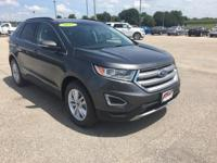 Gray 2017 Ford Edge SEL AWD 6-Speed Automatic EcoBoost