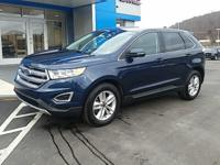 Blue 2017 Ford Edge SEL AWD 6-Speed Automatic EcoBoost