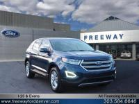 Blue Jeans Metallic 2017 Ford Edge SEL AWD 6-Speed