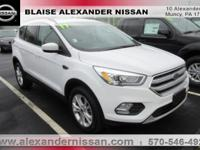 2017 Ford Escape SE INCLUDES WARRANTY, REMAINDER OF