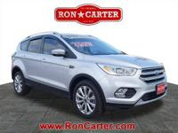 This outstanding example of a 2017 Ford Escape Titanium