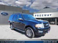 Shadow Black 2017 Ford Expedition XLT 4WD 6-Speed
