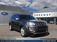 Magnetic Metallic 2017 Ford Explorer Limited AWD