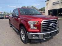 Ruby Red Metallic Tinted Clearcoat 2017 Ford F-150 XLT