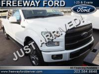Oxford White 2017 Ford F-150 Lariat 4WD 6-Speed