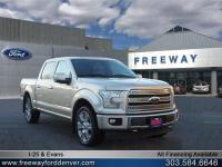 White Gold 2017 Ford F-150 Limited 4WD 10-Speed