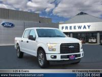 Oxford White 2017 Ford F-150 XL 4WD 6-Speed Automatic