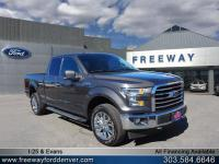 Magnetic Metallic 2017 Ford F-150 XLT 4WD 6-Speed