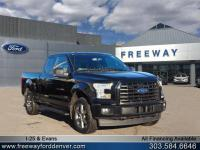 Shadow Black 2017 Ford F-150 XLT 4WD 10-Speed Automatic