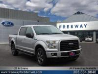 Ingot Silver Metallic 2017 Ford F-150 XLT 4WD 10-Speed