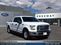 Oxford White 157 WB 2017 Ford F-150 XLT 4WD 6-Speed