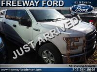 Oxford White 2017 Ford F-150 XLT 4WD 10-Speed Automatic
