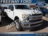 Oxford White 2017 Ford F-350SD XLT 4WD TorqShift