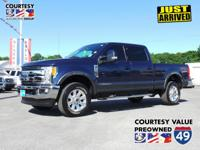 This Ford Super Duty F-250 SRW has a powerful Regular