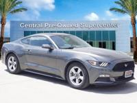 This outstanding example of a 2017 Ford Mustang V6 is