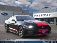 Shadow Black 2017 Ford Mustang RWD 6-Speed Automatic
