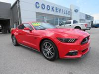 New Arrival! CarFax 1-Owner, This 2017 Ford Mustang GT