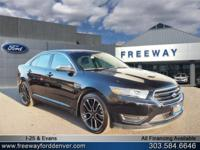 Shadow Black 2017 Ford Taurus Limited AWD 6-Speed