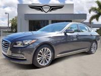 2017 GENESIS G90 ULTIMATE EDITION with a 3.8L V6 F DOHC