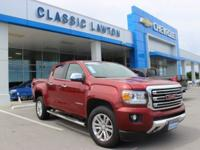 Red Quartz Tintcoat 2017 GMC Canyon SLT RWD 8-Speed