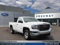 Summit White 2017 GMC Sierra 1500 RWD 6-Speed Automatic