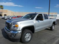 Quicksilver Metallic 2017 GMC Sierra 2500HD SLE RWD