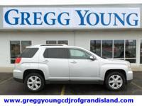 Quicksilver Metallic 2017 GMC Terrain SLT AWD 6-Speed