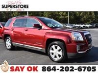 CARFAX One-Owner. Crimson Red Tintcoat 2017 GMC Terrain