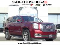 Recent Arrival! CARFAX One-Owner. 2017 GMC Yukon Denali