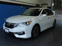 CARFAX One-Owner. Clean CARFAX. White 2017 Honda Accord