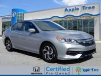 Treat yourself to this 2017 Honda Accord LX, which