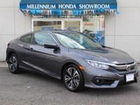This Honda Certified Civic Coupe EX-T CVT is Priced