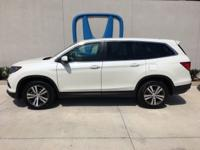 Check out this 2017 Honda Pilot EX-L. Its Automatic