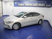 This 2017 Hyundai Elantra has a clean CARFAX vehicle