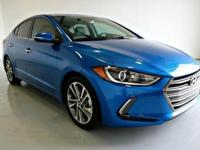 Clean CARFAX. 2017 Hyundai Elantra Limited FWD 6-Speed