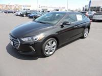 2017 Hyundai Elantra Limited 37/28 Highway/City