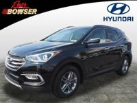 This 2017 Hyundai Santa Fe Sport 2.4L includes a backup