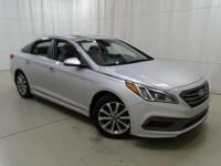 One Owner Super Clean 2017 Hyundai Sonata, this vehicle