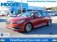 This outstanding example of a 2017 Hyundai Sonata Sport