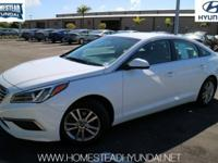 This 2017 Hyundai Sonata 2.4L PZEV is offered to you
