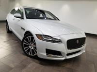 This 2017 Jaguar XF 20d Prestige is featured in Glacier