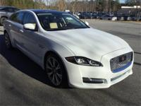 2017 Jaguar XJ XJL Portfolio Polaris White One Owner,